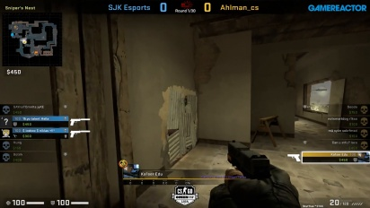 OMEN by HP Liga - Div 1 Round 5 - Ahlman_cs vs SJK Esports - Mirage.