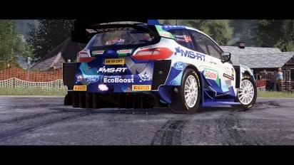 WRC 10 - Croatia 4K60 Gameplay Reveal