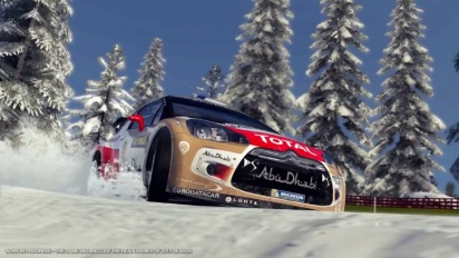 WRC 4 - First Trailer (Rally Sweden)