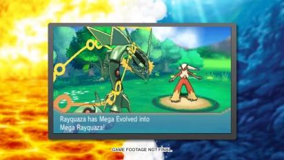 Pokémon Omega Ruby/Alpha Sapphire - Mega Rayquaza Trailer