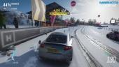 Forza Horizon 4 - Winter Derwent Lakeside Sprint Gameplay (1080p scaled)