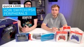 Hori Switch & PlayStation 4 Peripherals - Quick Look