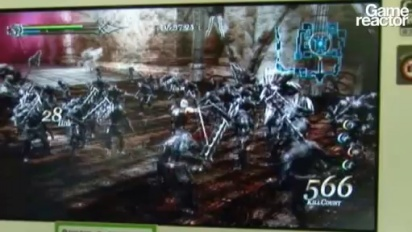 TGS09: Ninety-Nine Nights II gameplay