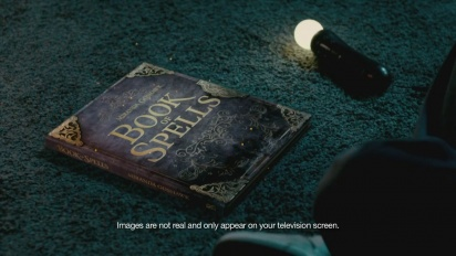 Wonderbook: Book of Spells - TV Commercial