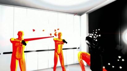 Superhot gameplay trailer