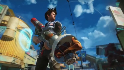 Sunset Overdrive - Behind the Scenes of Walters Workshop Trailer