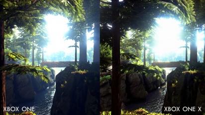 Ark: Survival Evolved - Xbox One X Comparison Trailer