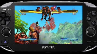 Street Fighter X Tekken - PS Vita Combo Trailer