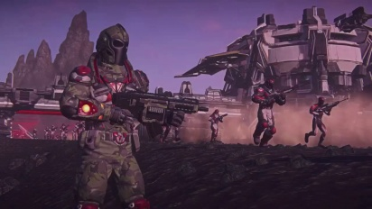 planetside 2 - Coming to Playstation 4 E3 trailer