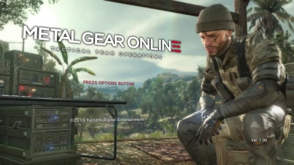 Metal Gear Solid V: The Phantom Pain - Metal Gear Online Gameplay Demo Trailer