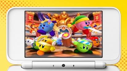 Kirby: Battle Royale - Reveal Trailer - Nintendo 3DS