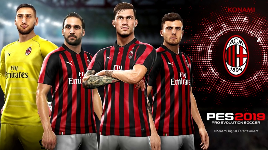 PES 2019 renews partnership with AC Milan - Pro Evolution Soccer