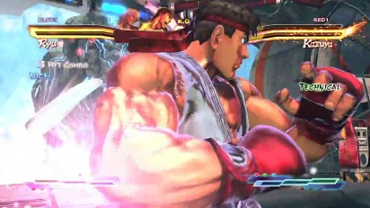 Street Fighter X Tekken - PS Vita Launch Trailer