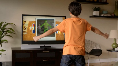 Kinect Rush: A Disney Pixar Adventure - Kinect Scan Trailer