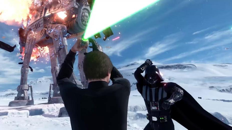 Star Wars Battlefront E3 2015 Walker Assault On Hoth Multiplayer Gameplay Trailer