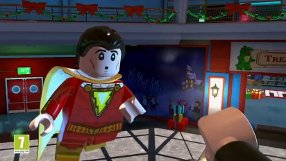 Lego DC Super-Villains - Shazam! Trailer