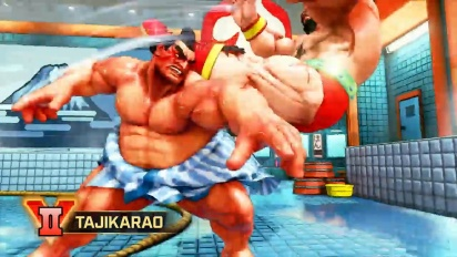 Street Fighter V: Arcade Edition - E. Honda, Lucia & Poison Gameplay Trailer