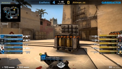 OMEN by HP Liga - Div 1 Round 6 - Ahlman_cs vs ExeRetro - Mirage.