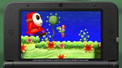 Yoshi's New Island - E3 Trailer