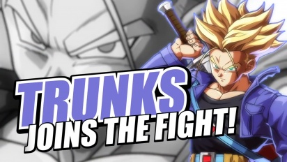DRAGON BALL FighterZ - Trunks Reveal Trailer | XB1, PS4, PC