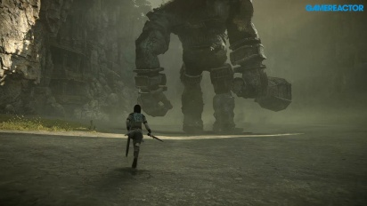 Shadow of the Colossus Remake - First Colossus