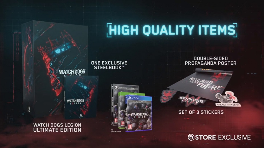 Watch Dogs Legion Collector S Edition Reveal