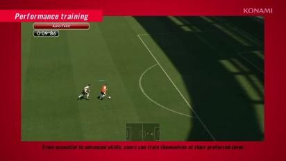 Pro Evolution Soccer 2014 - Training Mode Trailer