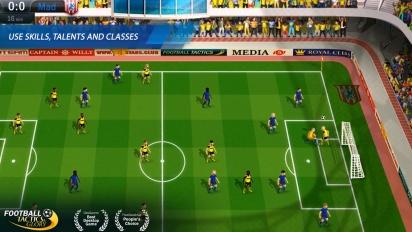 Football, Tactics & Glory - Pre-Launch Trailer