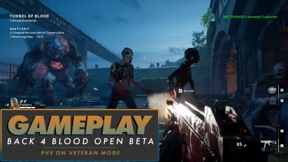 Back 4 Blood - Open Beta PVE on Veteran Difficulty