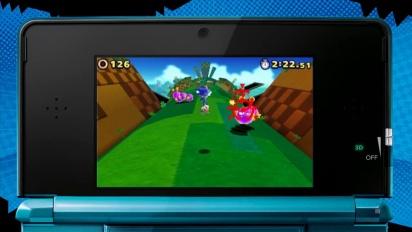 Sonic Lost World - Nintendo 3DS Trailer
