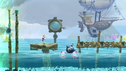 Rayman Legends: Gloo Gloo Musical Level Trailer