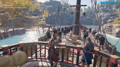 Assassin's Creed Odyssey - Lesbos Gameplay Part Two