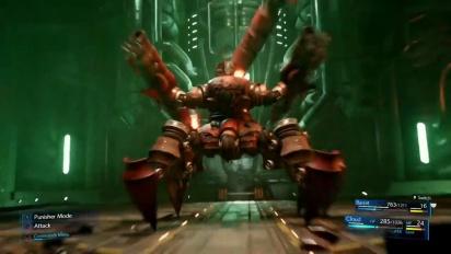 Final Fantasy VII: Remake - Scorpion Sentinel Boss Battle Demonstration