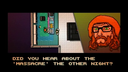 Hotline Miami - Announcement Trailer