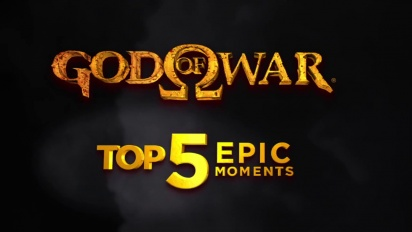 God of War: Ascension - Top 5 Epic Moments From the God of War Series Trailer