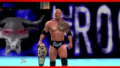 WWE 2K14 - The Rock Entrance & Finisher Gameplay Trailer