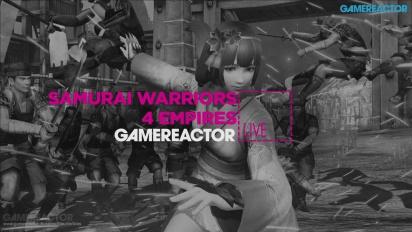 Samurai Warriors 4: Empires - Livestream Replay