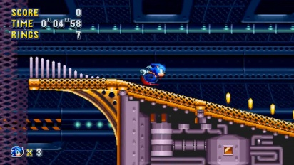 Sonic Mania - Flying Battery Zone Level