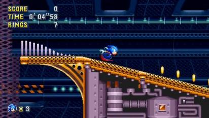 Sonic Mania - Flying Battery Zone Level