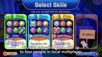 Bubble Bobble 4 Friends: The Baron is Back! -  PC announcement trailer