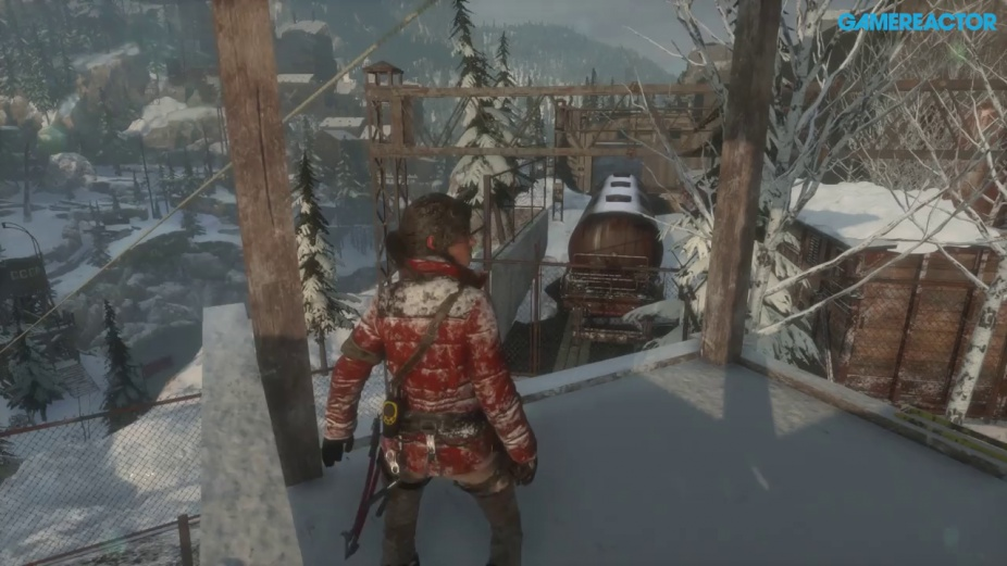 Rise Of The Tomb Raider Exclusive Siberia Gameplay Xbox One