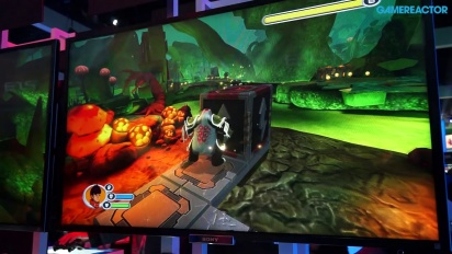 E3 2014: Invizimals: The Lost Kingdom - Gameplay