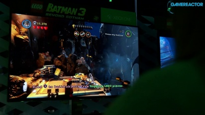 E3 2014: Lego Batman 3: Beyond Gotham  - Gameplay