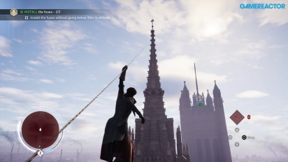 Assassin's Creed: Syndicate – PS4 gameplay – Graham Bell & Big Ben with Evie