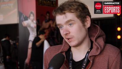 Tekken World Tour finals - Fergus Interview