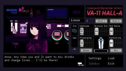 VA-11 HALL-A: Cyberpunk Bartender Action - Console Trailer
