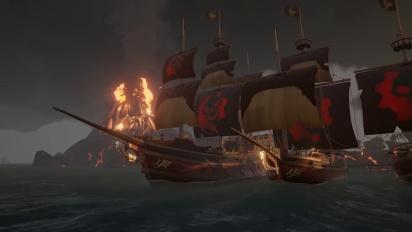 Sea of Thieves - Omen Ship Set Reveal Trailer