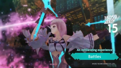 Blue Reflection: Second Light - Gameplay Trailer #1