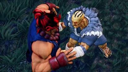 Street Fighter V - Oro Gameplay Trailer
