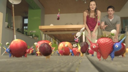 Pikmin 3 - Pikmin Come to Life Trailer TV Ad